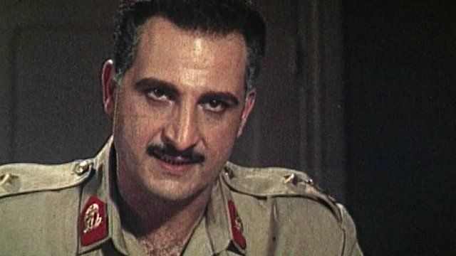 Khaled El-Sawy in the film Gamal Abdul Nasser
