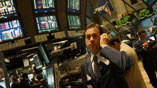 Брокер на бирже в 2008 году