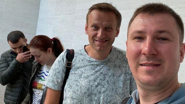 Илья Агеев с Навальным