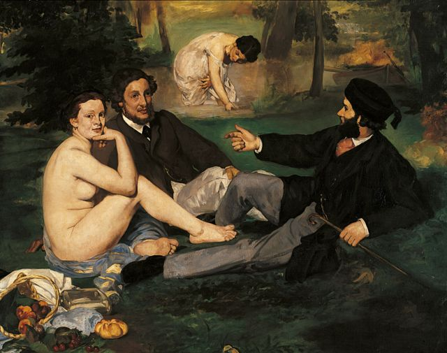 Édouard Manet - The Luncheon on the Grass (1863)