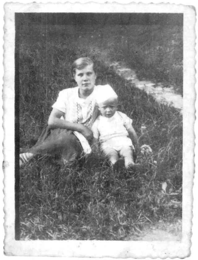 1938'de Kristina ve kuzeni