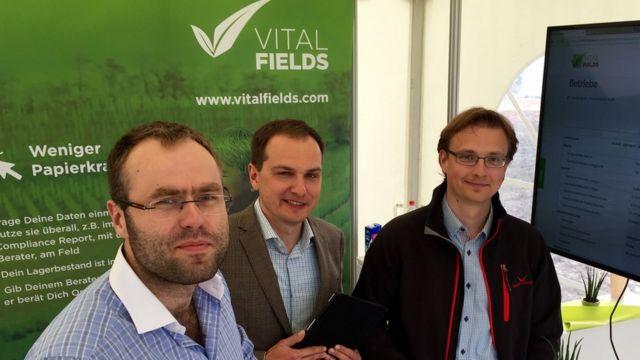Gerentes de VitalFields