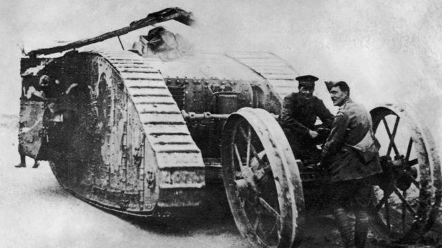 O tanque Mark I