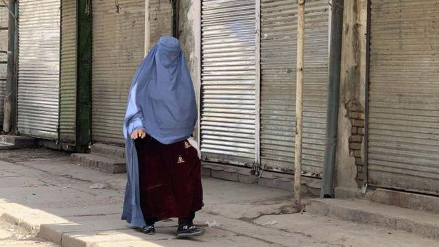 Mujer en Afganistán