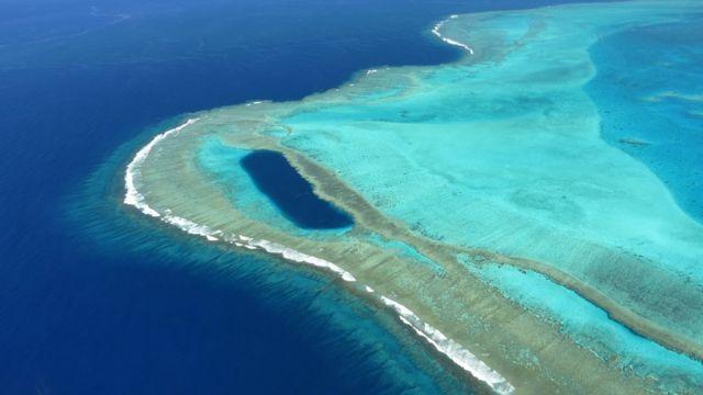 Barrera de coral de Caledonia