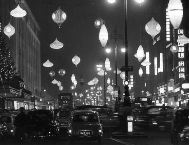 1961年圣诞彩灯——牛津街