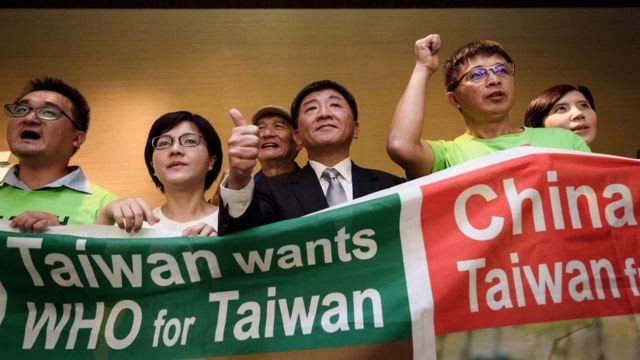 台湾当局认为,当地不能参加世界卫生组织,影响2003年抵抗非典型肺炎疫情的工作。