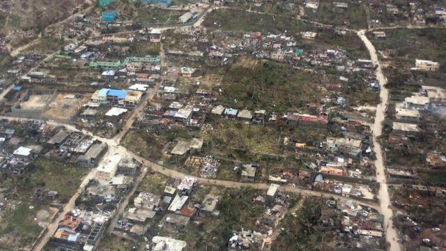 तूफ़ान से हेती में व्यापक तबाही हुई है.