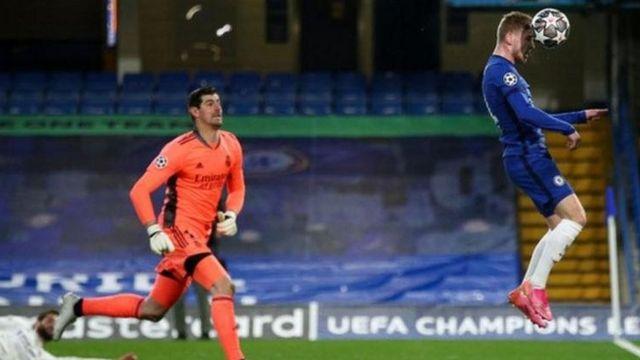 لقطة من مباراة تشيلسي وريال مدريد