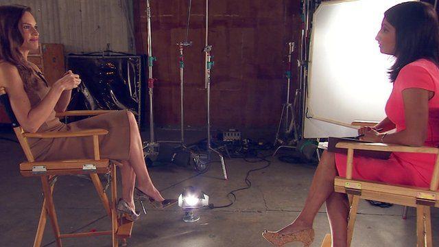 Rajini Vaidyanathan talks to Hilary Swank