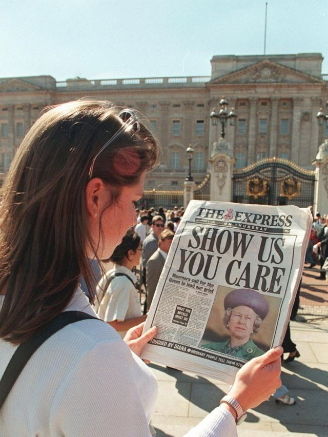 How has Princess Diana's death changed the Royal Family?