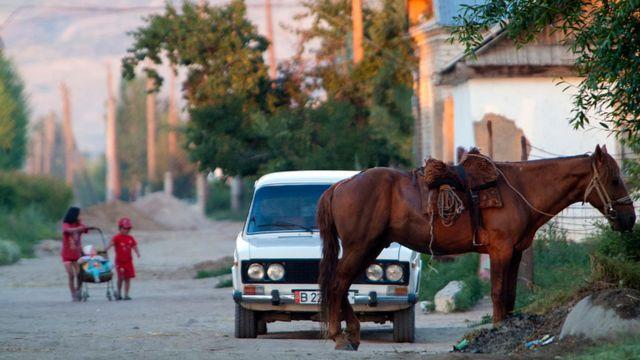 Киргизское село