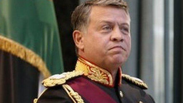 Rei Abdullah, da Jordânia