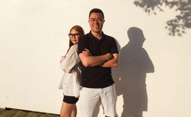Director de LiNK y refugiada norcoreana.