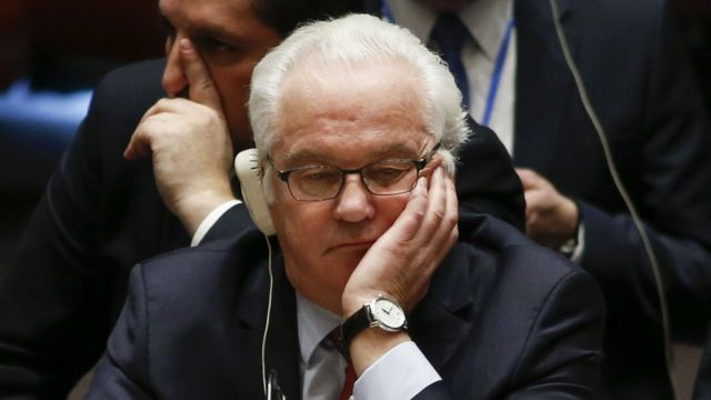 Виталий Чуркин в ООН