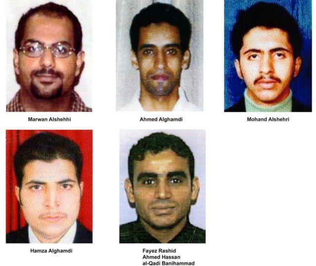 الأشخاص المذكورون في تقرير التحقيق هم الذين اختطفوا رحلة الخطوط الجوية المتحدة رقم 175