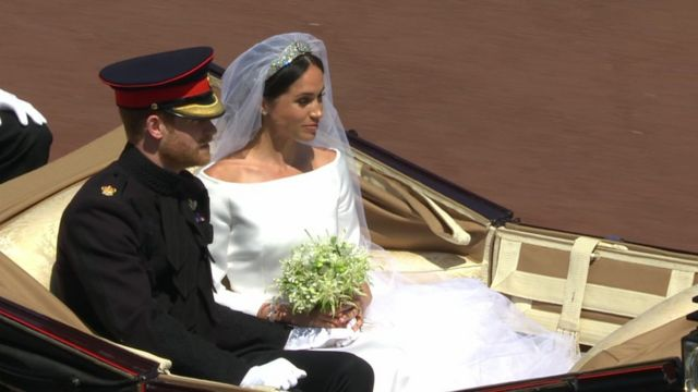 Royal wedding 2018: Couple round off happy day ... - bbc.com