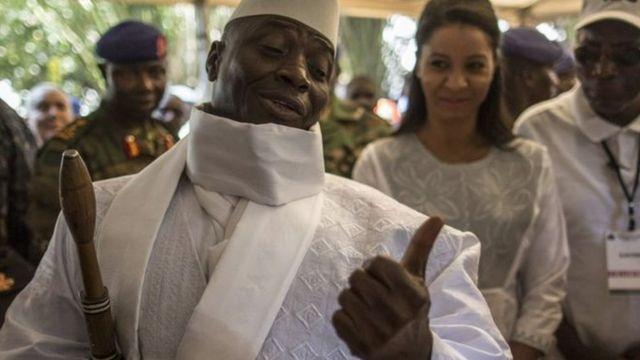 Perezida Yahya Jammeh