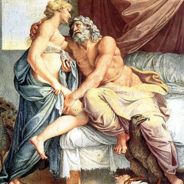 Pintura de Annibale Carracci (1560 - 1609).