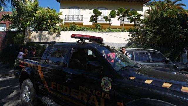 Polícia Federal na casa de Nuzman