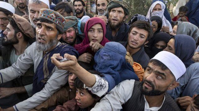 Người Afghanistan chạy trốn từ các tỉnh phía bắc đến Kabul (10 tháng 8)