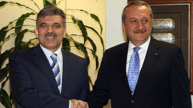 Ağar'ın 2007 Abdullah Gül'ü ziyareti