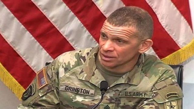 сержант-майор Майкл Гринстон