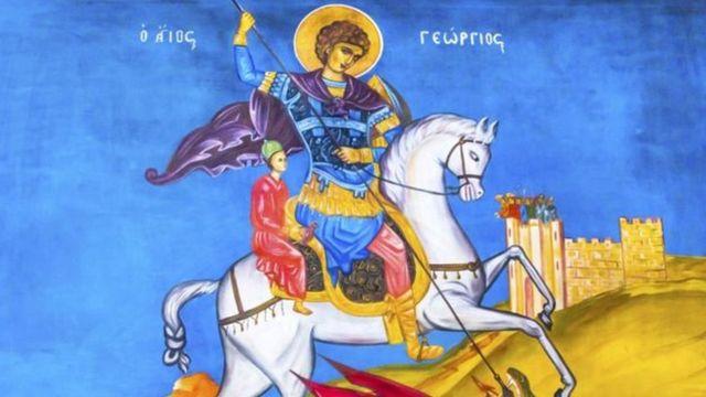 Ilustração de São Jorge