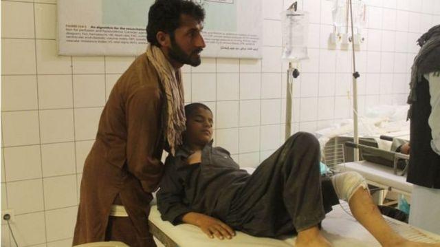 یک پزشک گفت طلاب و غیرنظامیان در میان کشته ها و زخمی ها بودند