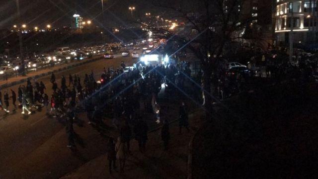 مظاهرات مناهضة للحكومة في إيران عقب إقرارها بإسقاط الطائرة الأوكرانية