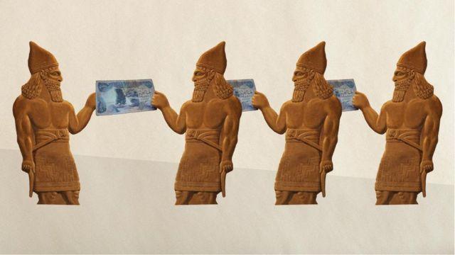 古代的巴比伦人是第一个提出金钱概念的人