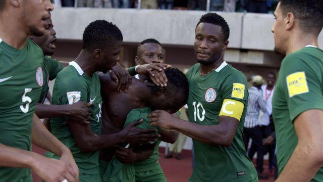 لاعبون، نيجريا، منتخب