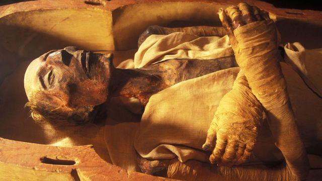 مومياء الملك رعمسيس الثاني