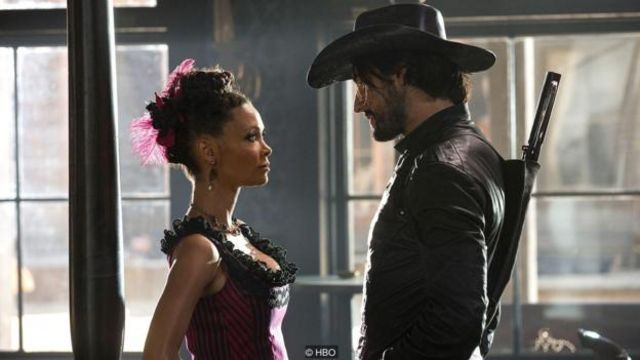 Visitors pay to kill and rape robots that pass for humans at a Western-themed resort in Westworld - but is that different from any of us who play violent videogames?