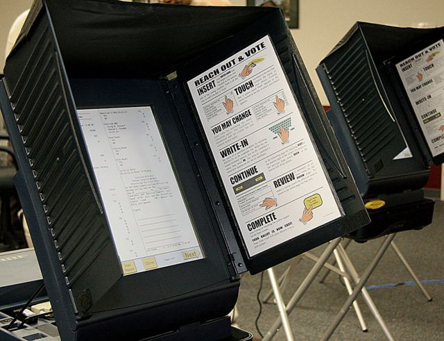Voting machines used in the 2006 Virginia elections
