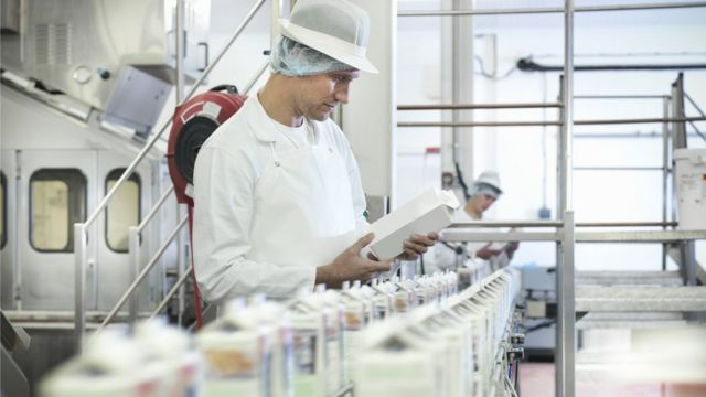 Fábrica de leite