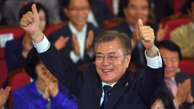 Moon Jae-in ahejeje gutogwa kurongora Korea Yepfo