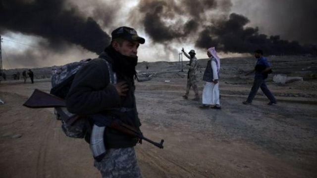मोसुल पर कब्जे के लिए इराकी सेना