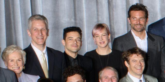 Glenn Close, Rami Malek, Bradley Cooper