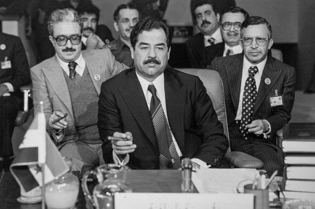صدام حسین و مقامهای ارشد حزب بعث عراق