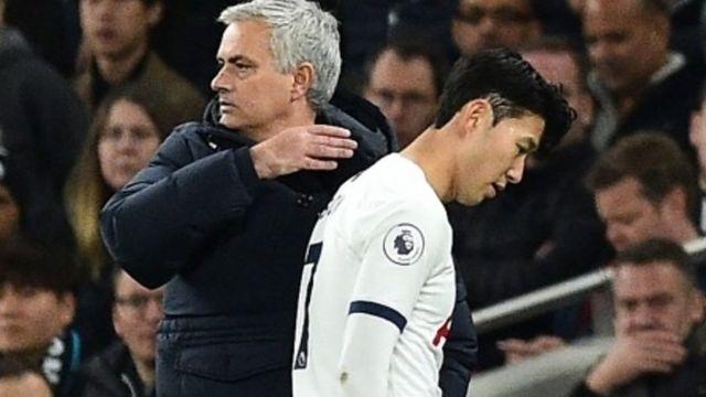 잉글랜드 프로축구 토트넘의 손흥민이 시즌 2번째 퇴장을 당했다