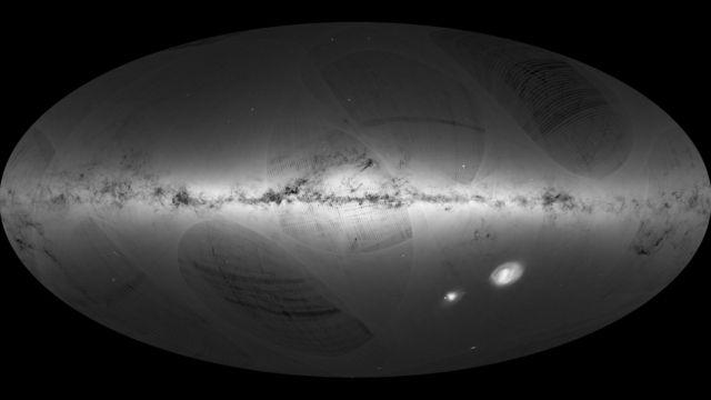 Mapa de la Vía Láctea