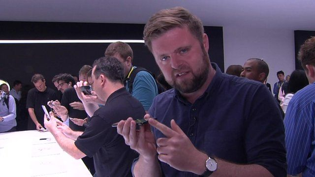 Dave Lee went hands-on with the products at Apple's launch event in San Francisco