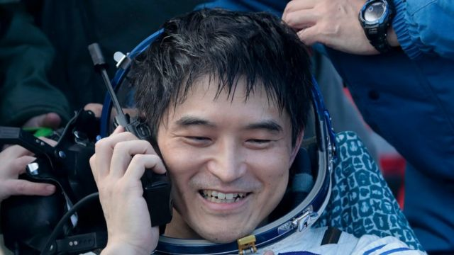 Japanese astronaut Takuya Onish