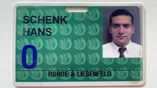 WTC ecard Hans Gernot Schenk