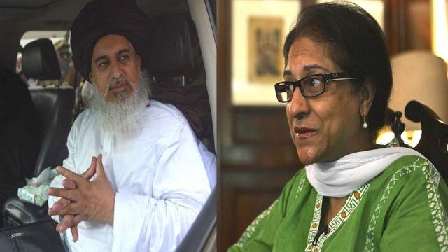 خادم رضوی اور عاصمہ جہانگیر