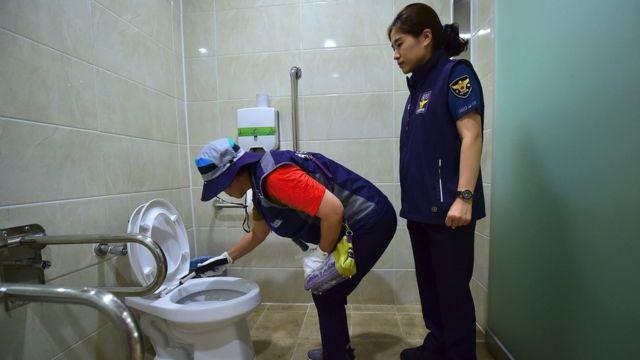 Pemeriksaan toilet