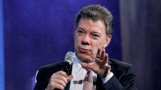 Juan Manuel Santos prezida wa Colombia