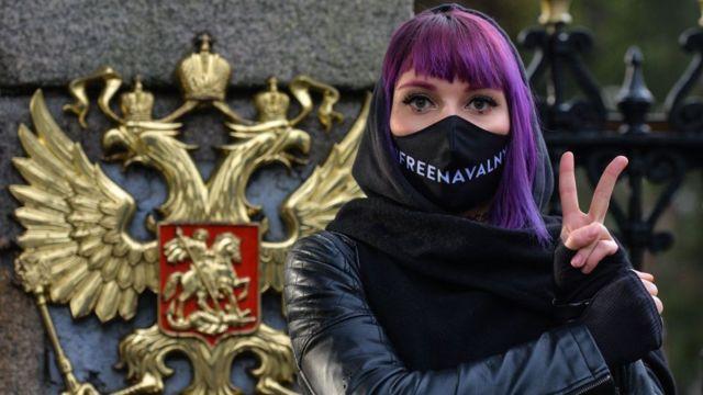протесты у суда по Навальному