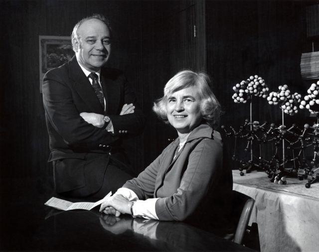 Isabella e Jerome Karle